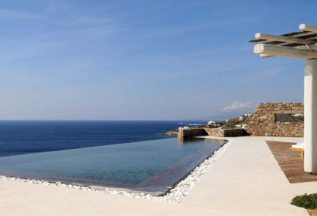 Luxury villas in Mykonos, Greece