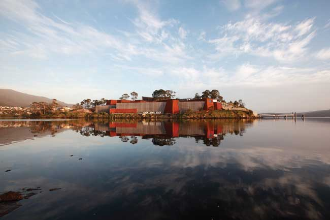 Museum of Old and New Art (Mona) Photo by Tourism Tasmania & Mona