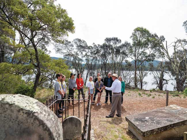 Isle of the Dead - Port Arthur Historic Site Photo by Alastair Bett