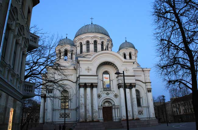 St. Michael the Archangel Church in Kaunas (known as Soboras by locals). Flickr/Christophe Goessen