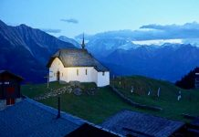 While hiking in Switzerland, we visit the car-free village of Bettmeralp.