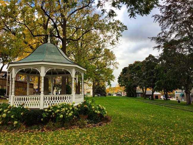 City Park in Petosky, Michigan. Photo by Rich Grant
