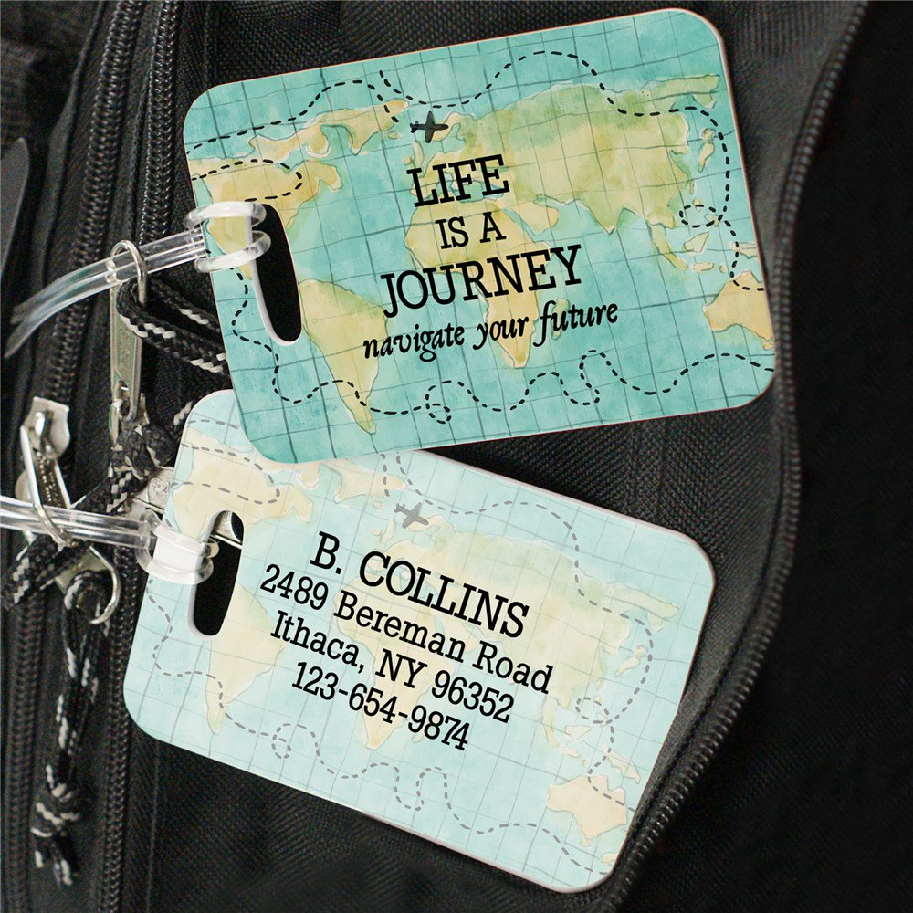 Luggage Tag Personalized