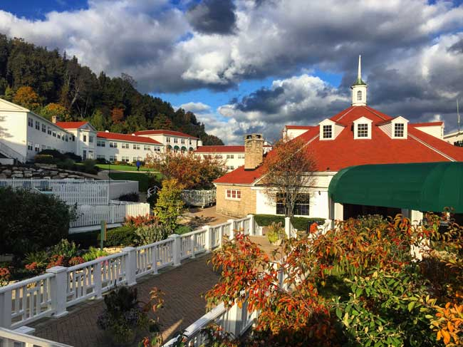 Mission Point Resort on Mackinac Island, Michigan. Photo by Rich Grant