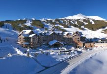 One Ski Hill Place at the base of Peak 8 in Breckenridge. Photo courtesy of One Rock Resorts