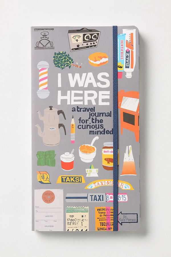 I Was Here: A Travel Journal for the Curious Minded Amazon