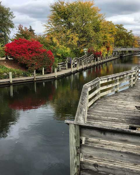 Fall in Traverse City, MI. Photo by Rich Grant