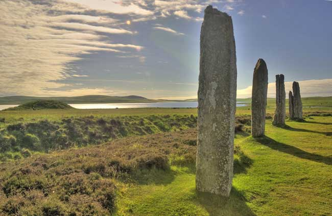 The Ring of Brodgar is an early Bronze Age stone ring in Orkney. Flickr/ Howard/Harriet Greenwood