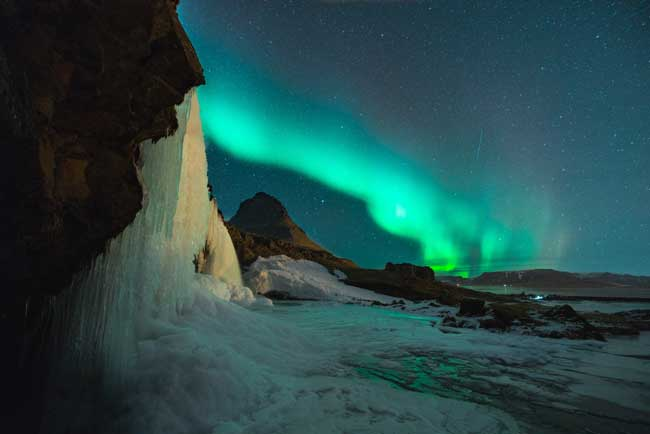 Iceland is a great place to see the Northern Lights