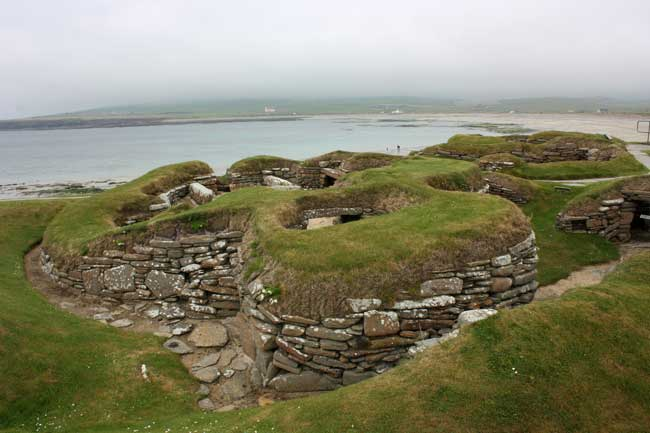 A visit to Skara Brae, an excavated underground village older than Stonehenge. Flickr/ marydoll1952