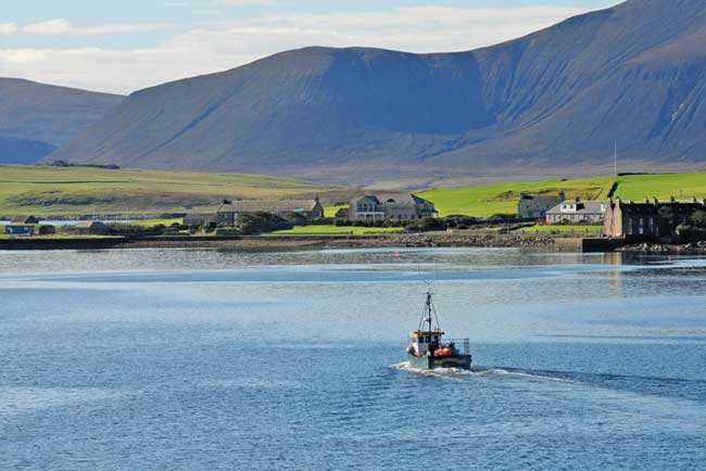 A view of Stromness in Mainland, Orkney, Scotland. Flickr/photo