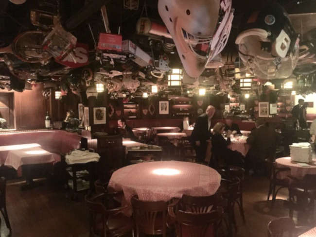21 Club near Rockefeller Center appeared in the movie Wall Street
