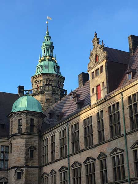 View of Kronborg Castle in Helsingor. Photo by Susmita Sengupt