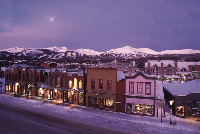 Town of Breckenridge. Photo courtesy of Carl Scofield for Breckenridge Ski Resort