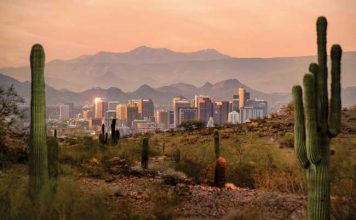Phoenix, Arizona is an excellent escape from cold winter weather. Photo by Visit Phoenix