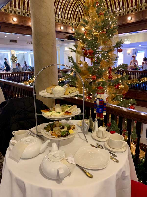Holiday Tea at the Hotel Boulderado. Photo by Benjamin Rader