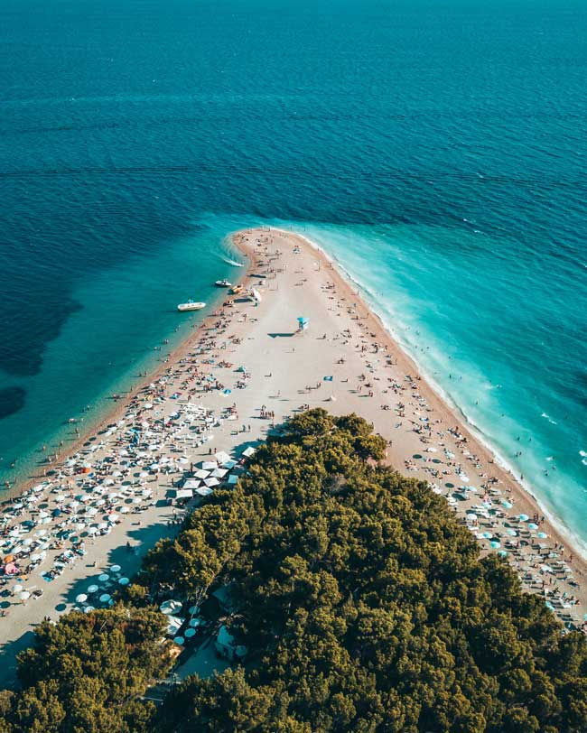 Croatia has more than 1,200 islands