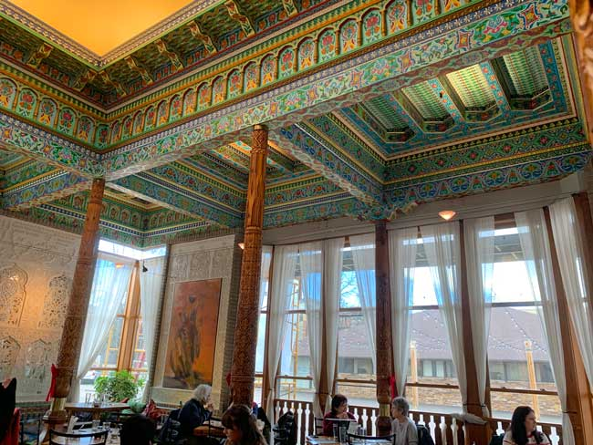 The Dushanbe Teahouse in Boulder, Colorado. Photo by Janna Graber