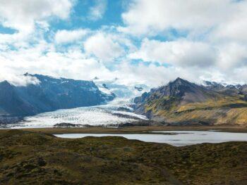 Explore glaciers in Iceland