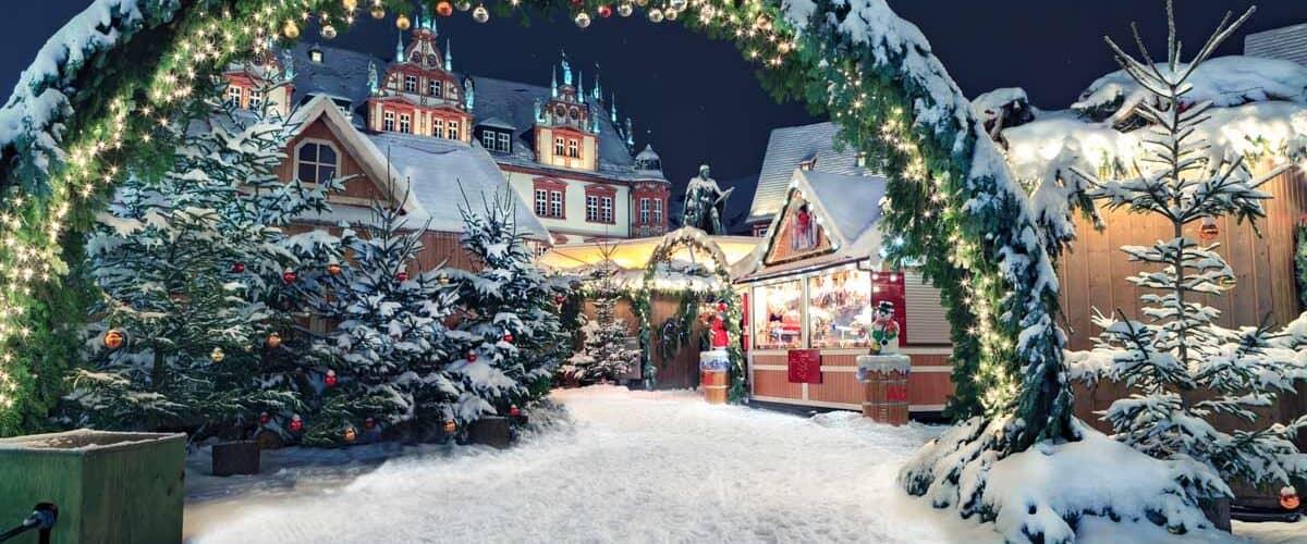 Germany Christmas market.