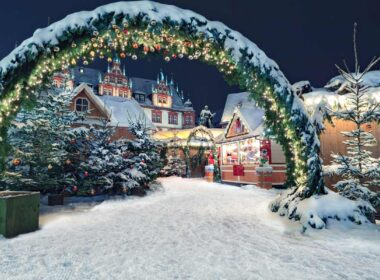 Germany Christmas market.