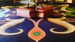 Hotel Hallways: Amazing Artwork Underfoot
