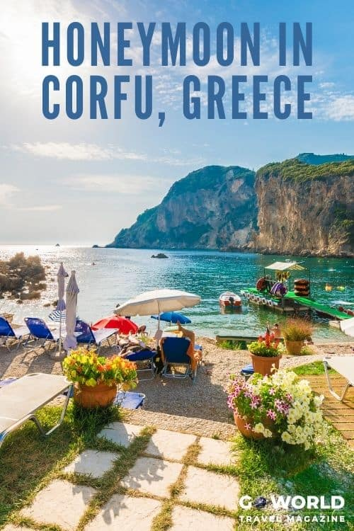 During a belated, off-season honeymoon in Corfu, a couple rediscovers their love of Greek food, Greek culture and each other.  #vacationingreece #honeymoonincorfu #greecetravel #corfugreece