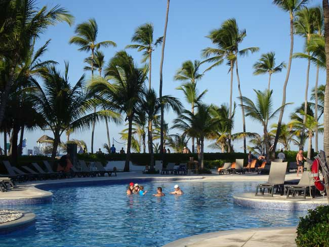The Occidental Punta Cana draws families, couples and vacationers of all ages. Photo by Janna Graber