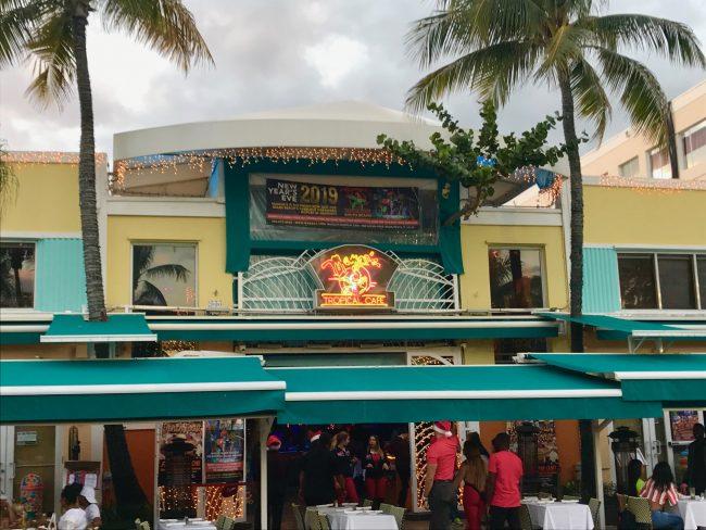 Mango's Tropical Cafe.