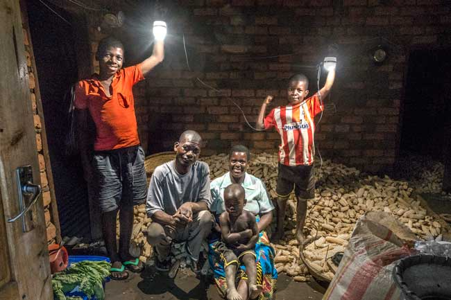 While the goal of the Dream Lights project is to help students perform better in school, the benefits of a well-lit home are extended to the entire family. Redson's father, mother and infant brother are equally stoked on their new ability to bring the power of the sun into their homes, long after it has set!