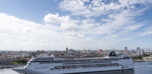 The MSC Armonia. Photo by MSC Cruises