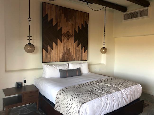 Native American motif at Boulders Resort & Spa. Photo by Claudia Carbone