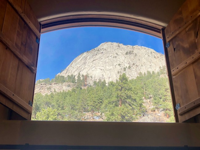Room with a view. Photo by Claudia Carbone