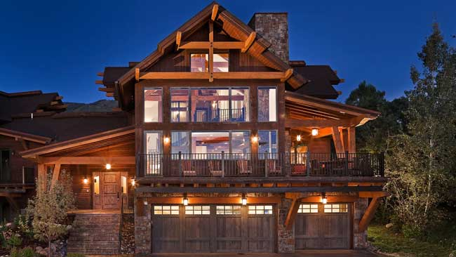 Sun Ridge Lodge is a Moving Mountains vacation rental home in Steamboat Springs. Photo by Moving Mountains