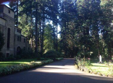 monks, monastery, The Grotto, historic catholic site, Portland, Oregon