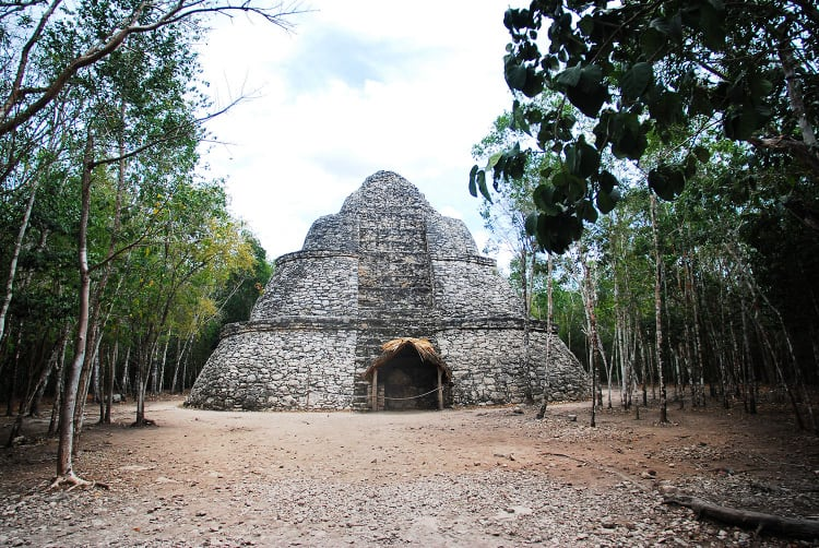Worth a visit, the Mayan ruins in Coba, Mexico. Photo: Zona Archaeological de Coba