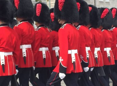 The Changing of the Guard in Quebec. Photo by Rich Grant