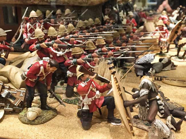 British toy soldiers for sale. Photo by Rich Grant