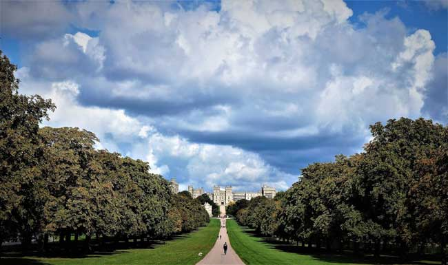 Windsor Castle. Photo by Rich Grant