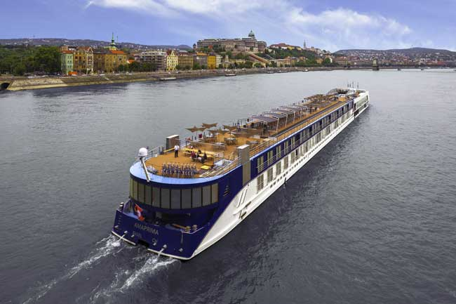 Adventures by Disney river cruises sail with AmaWaterways, a premier river cruise line in Europe. Photo by AmaWaterways