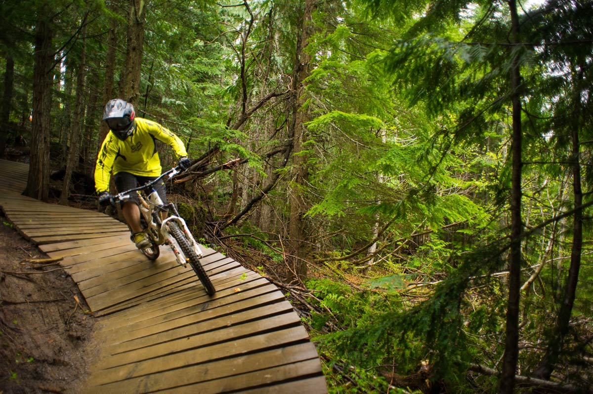 Bike Park. Photo by Tourism Whistler