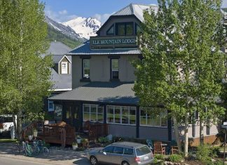 Elk Mountain Lodge B & B in the heart of Crested Butte. Photo courtesy of Elk Mountain Lodge