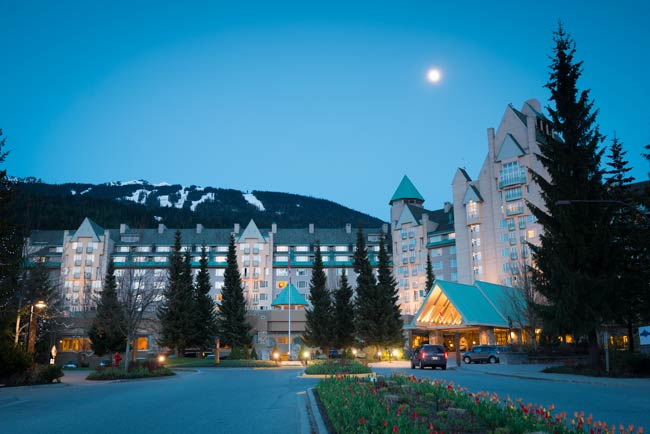Fairmont Chateau Hotel in Whistler. Photo by Tourism Whistler