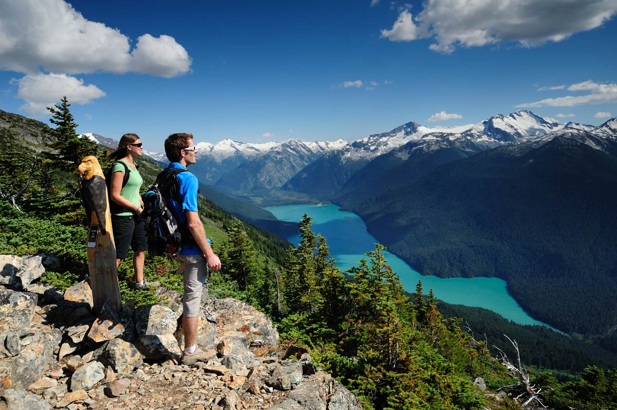 Hiking in Whistler, British Columbia. Photo by Tourism Whistler