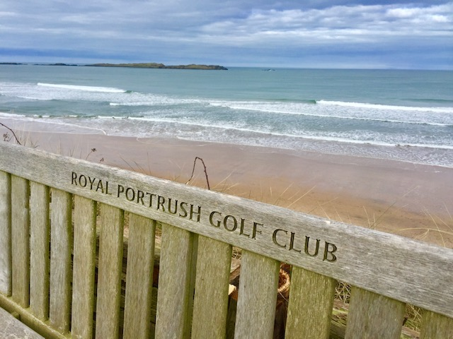 Ocean view from Royal Portrush Golf Club
