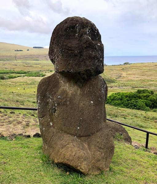Rano Raraku on Easter Island. Photo by Kim Foley MacKinnon