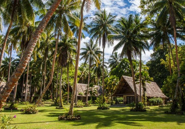 "Privacy, a one-to-one guest-to-staff ratio and seven luxurious bungalows are the reason ""the royals,"" Will and Kate, stayed at Tavanipupu Resort while touring the former British Empire's colonies and protectorates."