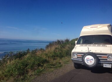 Oregon coast, Lincoln City, road trip, campervan
