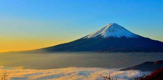 Climbing Mt Fuji in the Off Season