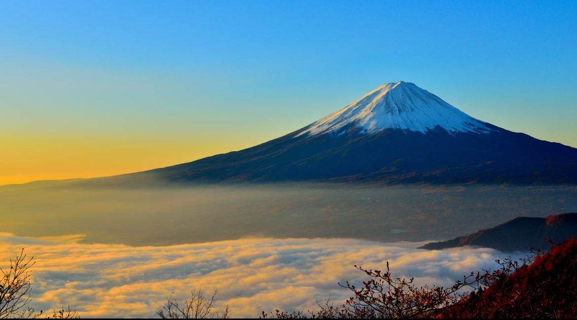 Climbing Mt Fuji in the Off Season